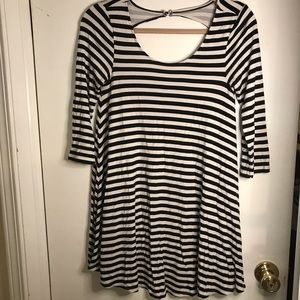 American Eagle Striped Mini Dress